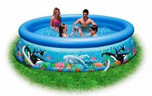 Надувной бассейн Intex Easy Set Pool арт. 54904 ― Luckfamily.ru