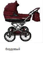 Коляска BABY WORLD классика PARIS SHINE ― Luckfamily.ru