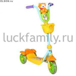 "САМОКАТ 3-х кол.""Leader Kids"" XG5102C-002 ― Luckfamily.ru"