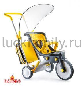 Велосипед-коляска 3 в 1  Italtrike EVOLUTION  yellow  (0003)                  ― Luckfamily.ru